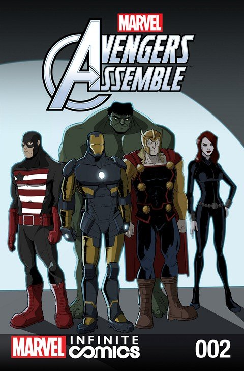 Marvel Universe Avengers Assemble Infinite Comic #2