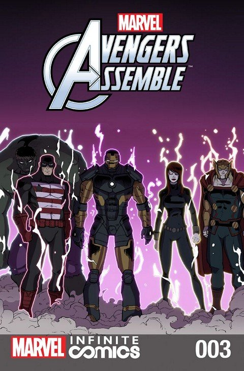 Marvel Universe Avengers Assemble Infinite Comic #3