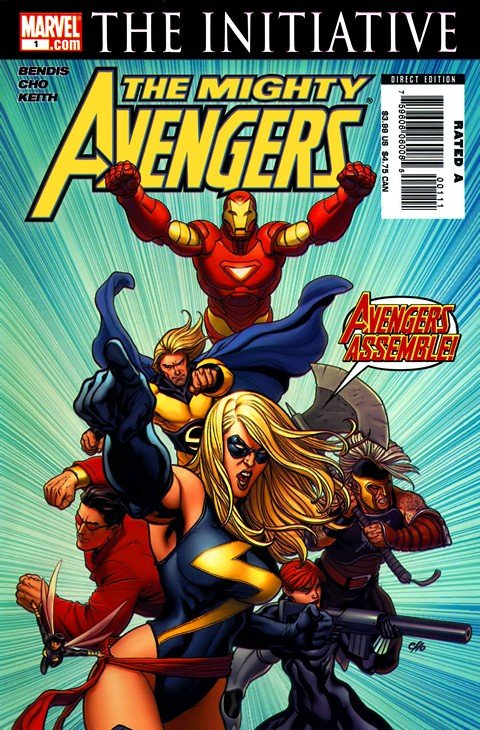 Mighty Avengers Vol.1 #1 – 36