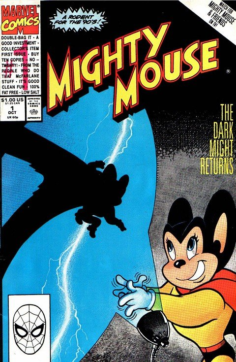 Mighty Mouse #1 – 10 (1990-1991)