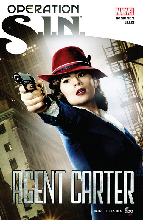 Operation S.I.N. Agent Carter (TPB)