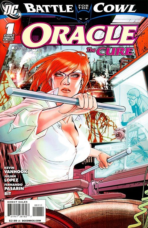 Oracle – The Cure #1 – 3 (2009)