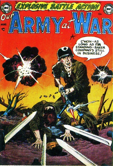 Our Army at War Vol. 1 #1 – 301 (1952-1977)