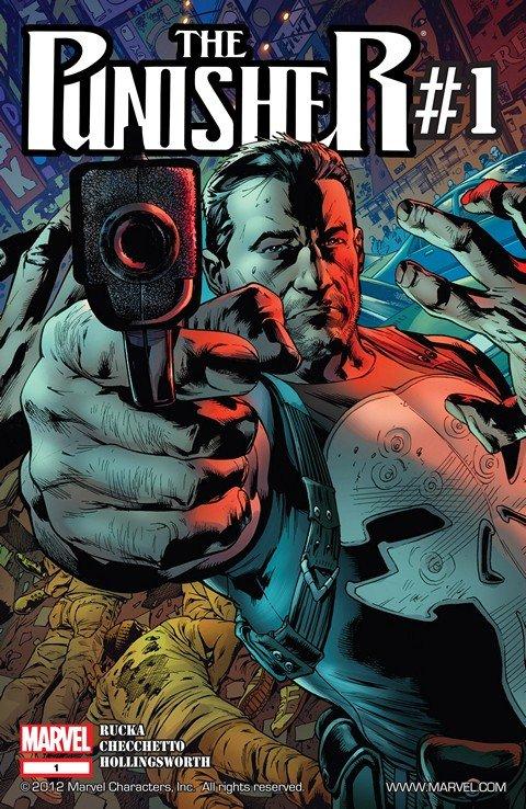 Punisher (2011) #1 – 16