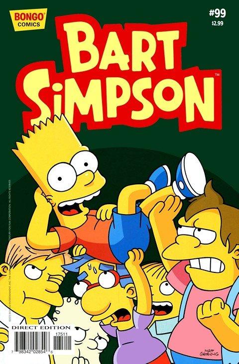 Simpsons Comics Presents Bart Simpson #99