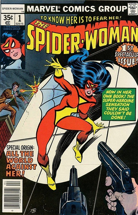 Spider-Woman Vol. 1 – 4 (Collection) (1978-2010)