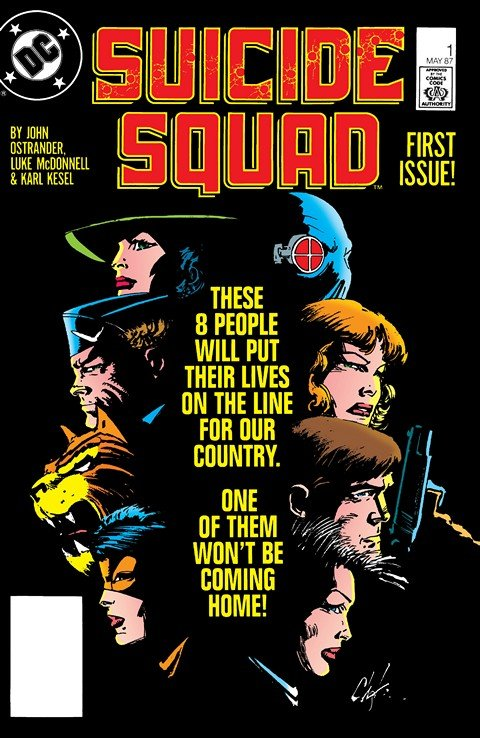 Suicide Squad #6 VG 1987 Stock Image Low Grade