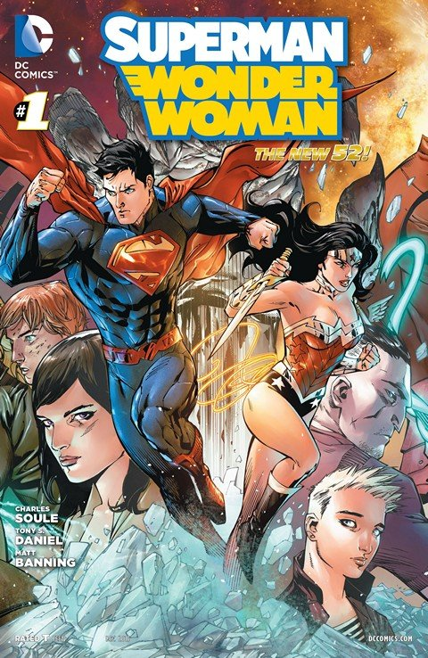 Superman-Wonder Woman #1 – 24 + Extras