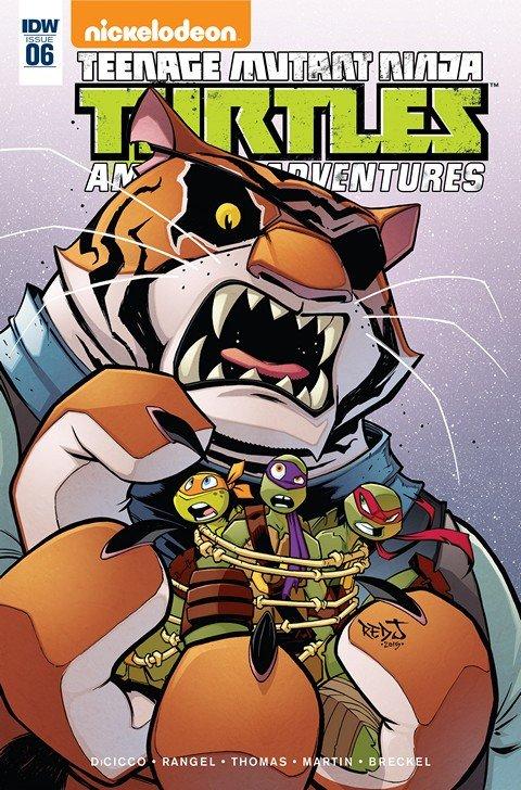 Teenage Mutant Ninja Turtles – Amazing Adventures #6