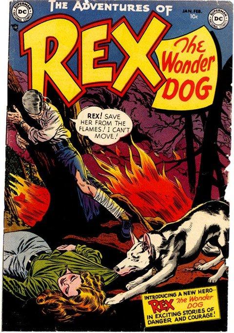 The Adventures of Rex the Wonderdog #1 – 46 (1952-1959)