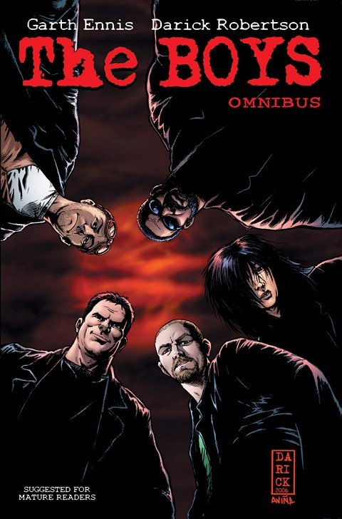 The Boys Omnibus Vol. #1 – 3