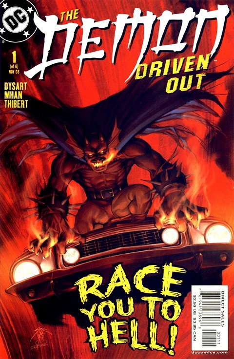 The Demon – Driven Out #1 – 6