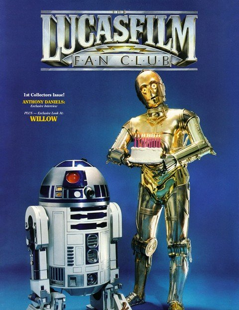 The Lucasfilm Fan Club Magazine #1 – 22