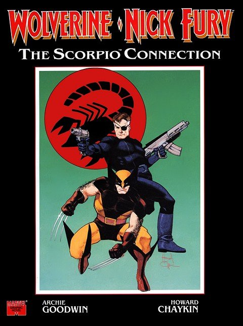 Wolverine & Nick Fury The Scorpio Connection (GN)