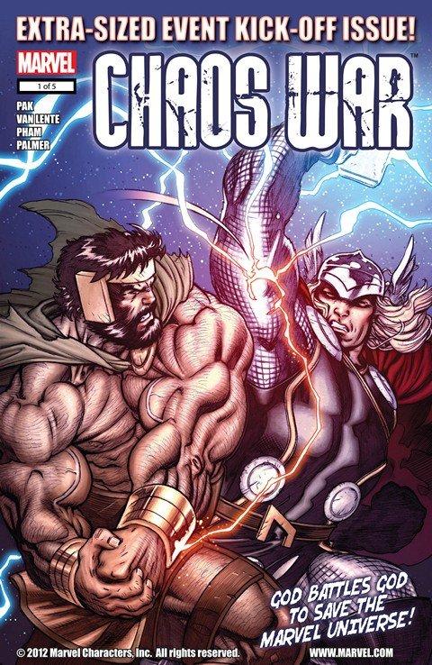 Chaos War #1 – 5