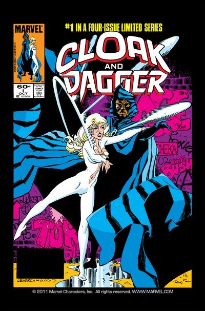 Cloak and Dagger Vol. 1 – 5 + Extras (Collection) (1985-2018)