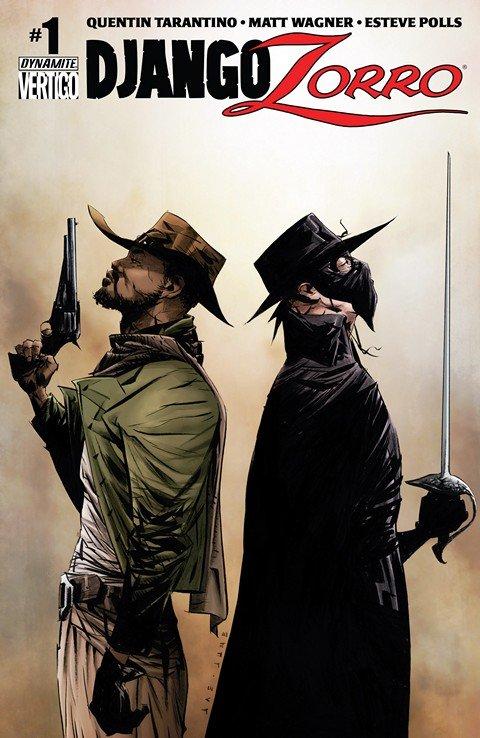 Django – Zorro #1 – 7 + TPB Vol. 1
