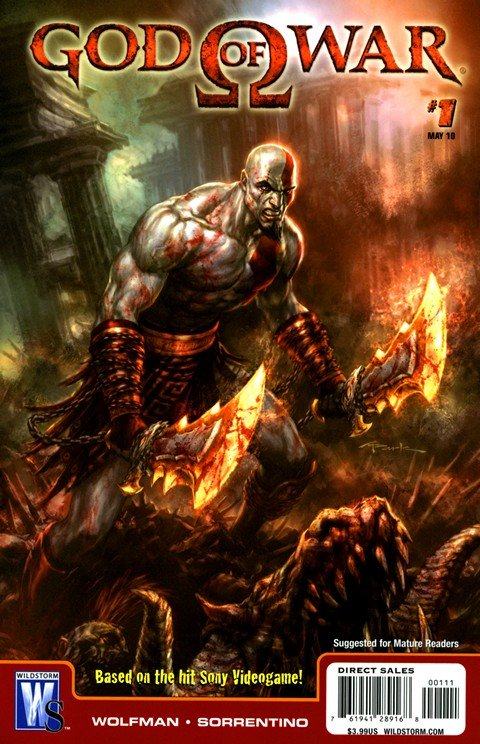 God of War #1 – 6
