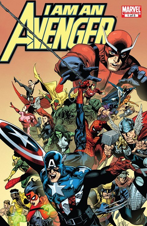 I Am An Avenger #1 – 5 (2010)