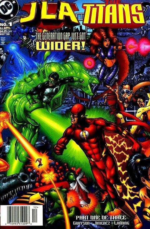 JLA vs Titans #1 – 3