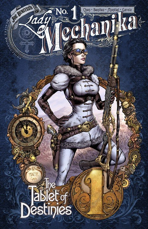 Lady Mechanika – The Tablet of Destinies #1 – 6