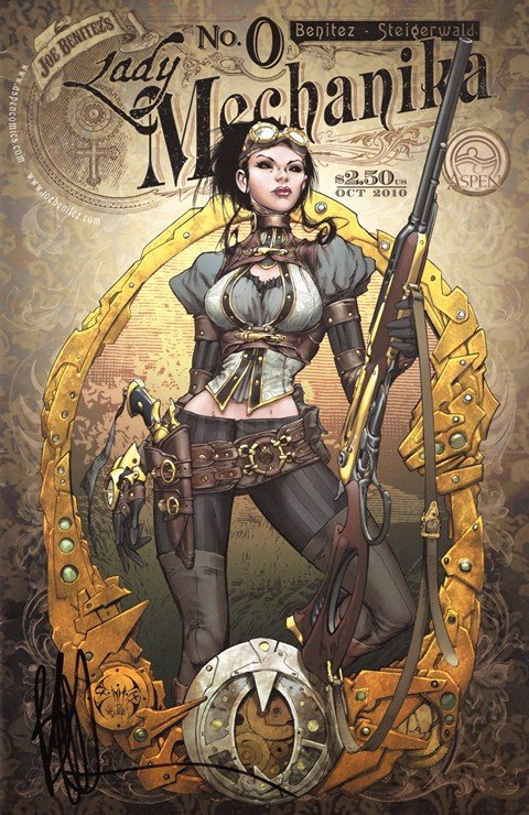 Lady Mechanika Vol. 1 #0 – 5