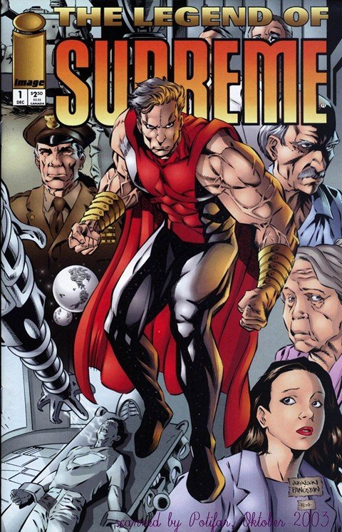 Legend of Supreme #1 – 3 (1994-1995)