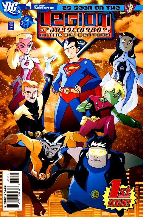 Legion of Super-Heroes in the 31st Century #1 – 20 (2007-2009)
