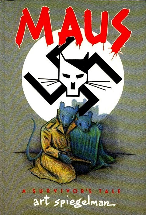 Maus #1 – 2 by Art Spiegelman (1986)