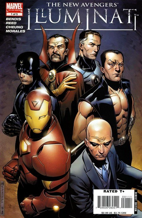 New Avengers – Illuminati #1 – 5 (2006-2008)