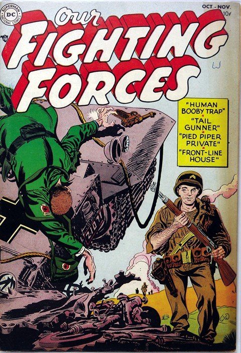 Our Fighting Forces Vol. 1 #1 – 181