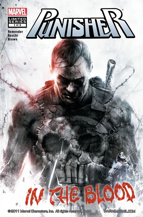 Punisher – In the Blood #1 – 5 + TPB (2011)