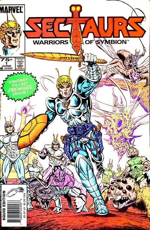 Sectaurs #1 – 8 (1985-1986)