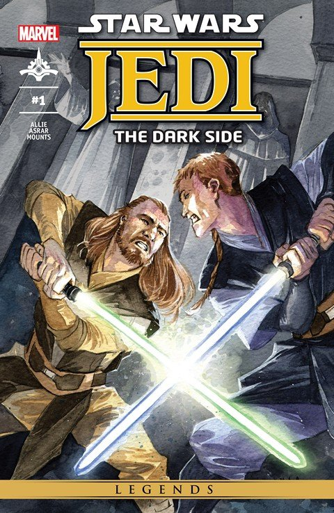 Star Wars – Jedi – The Dark Side #1 – 5