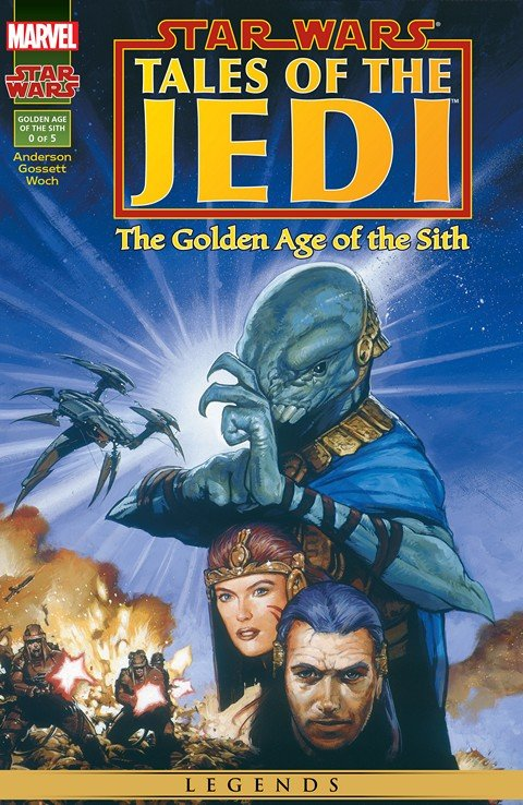 Star Wars – Tales of the Jedi – The Golden Age of the Sith #0 – 5 (Marvel Edition)