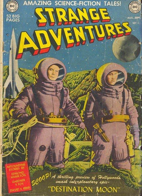 Strange Adventures #1 – 244 (1950-1973)