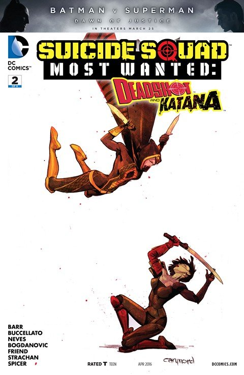 Suicide Squad Most Wanted – Deadshot and Katana #2