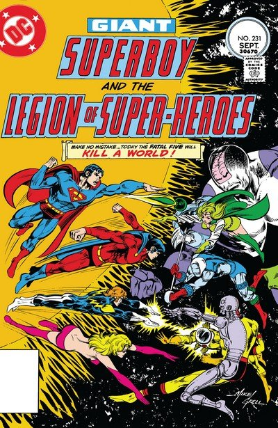 Superboy and the Legion of Super-Heroes #231 – 258 (1977-1979)