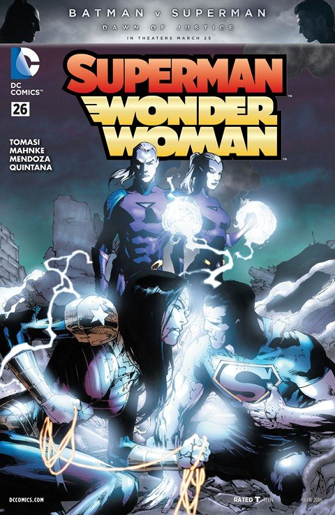Superman-Wonder Woman #26