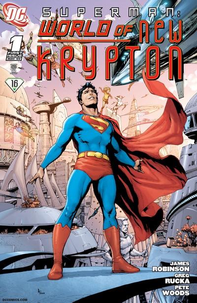 Superman – World of New Krypton #1 – 12 (2009-2010)