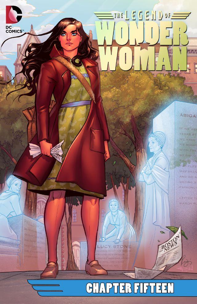 The Legend of Wonder Woman #15