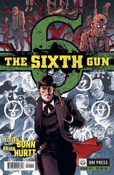 The Sixth Gun #1 – 50 + TPB + Extras (2010-2016)