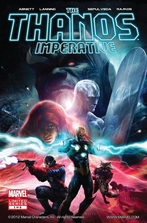 The Thanos Imperative #1 – 6 + Extras (2010-2011)