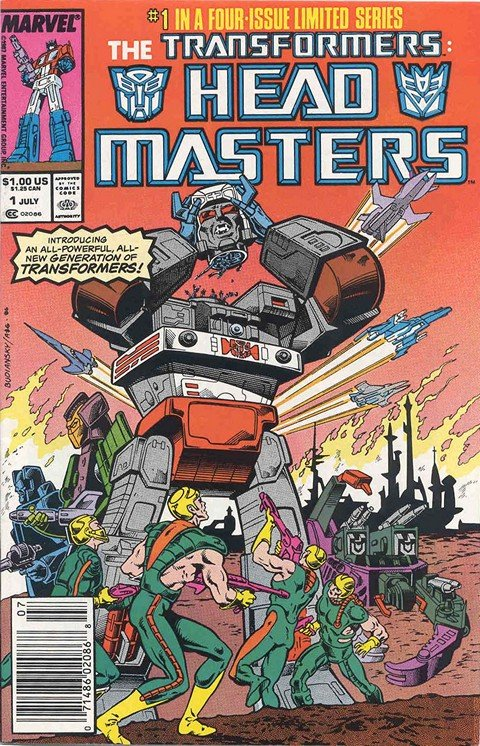 Transformers – Headmasters #1 – 4 (1987)