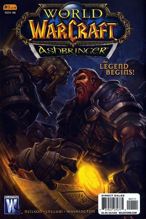 Warcraft – Ashbringer #1 – 4 (2008-2009)