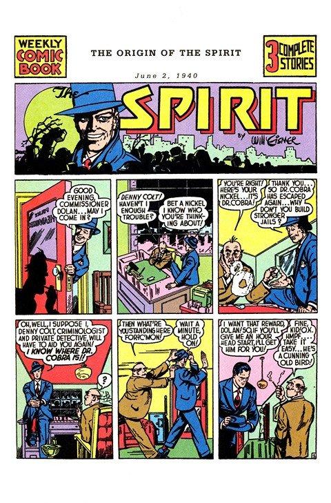 Will Eisner – The Spirit (Collection) (1940-1983)