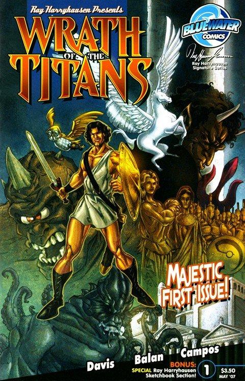 Wrath of the Titans #1 – 4