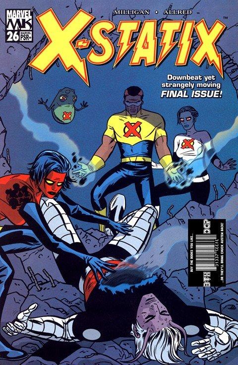 X-Statix #1 – 26 + TPB Vol. 1 – 4 (2002-2004)