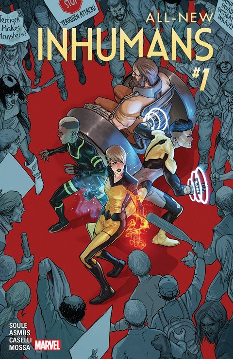 All-New Inhumans #1 – 5