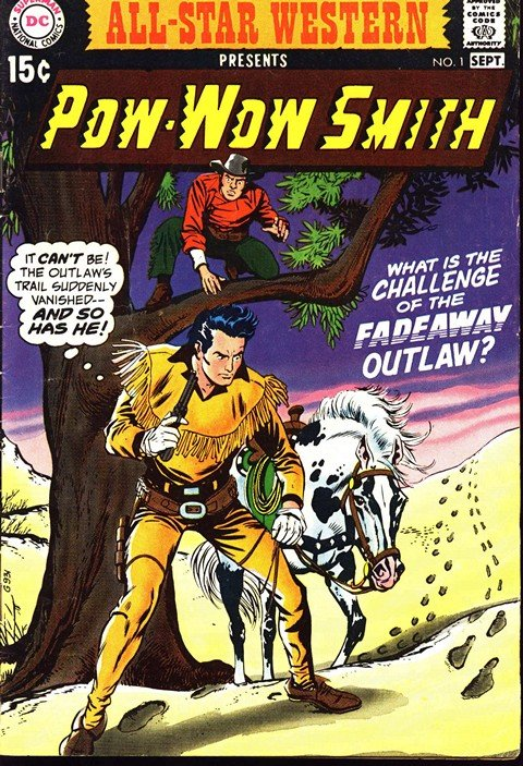 All-Star Western Vol. 2 #1 – 11 + Weird Western Tales #12 – 71 (1970-2010)